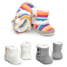 Soft Sole Cotton Baby Shoes Boy Girl Infant Toddler Kid Children Crib Boots