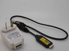 E-USB AC Battery Power Charger Adapter Cord For Samsung PL150 PL151 ST600 Camera