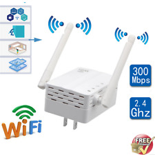 300Mbps Wireless-N Extender WiFi Repeater Signal Booster Network Router LOT GT