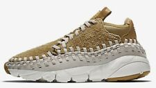Nike AIR FOOTSCAPE WOVEN CHUKKA QS MEN'S SHOE Flat Gold-Size US 6, 6.5, 7 Or 7.5