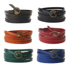 Fashion Multilayer Bracelet Leather Bangle Wristband Handmade Charms Jewelry
