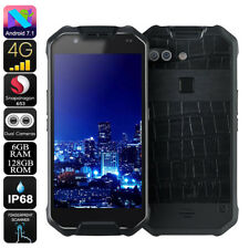 AGM X2 Smartphone Rugged Android 7.1 IP68 ROM 128GB Octa Core RAM 6GB 4G
