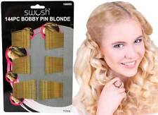 144 Bobby Pins Grips Hair Clips Beauty Salon Brown or Blonde