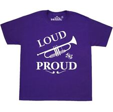 Inktastic Loud And Proud Trumpet Youth T-Shirt Music Brass Horn Band Musical Tee