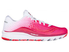 NEW WOMENS SAUCONY KINVARA 8 RUNNING SHOES BERRY / WHITE