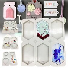 4/6 Cavity Hexagon Star Heart Silicone Aromatherapy Wax Plaster Epoxy Soap Mold