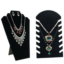 Jewelry 1 Pcs Stand Necklace Velvet Display Stand Display Pendant Chain Holder