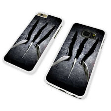WOLVERINE'S CLAWS  WHITE PHONE CASE COVER fits iPHONE / SAMSUNG (WH)