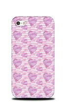 LOVE HEART VALENTINE PATTERN 5 HARD CASE COVER FOR APPLE IPHONE 4 / 4S