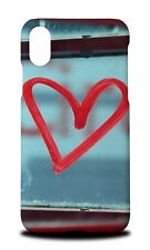COOL HEAR LOVE DOODLE HARD CASE COVER FOR APPLE IPHONE X
