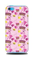 CAKES AND SWEETS PATTERN HARD CASE COVER FOR APPLE IPHONE 5C