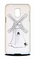 WIND MILL SKETCH DRAWING HARD #2 HARD CASE COVER FOR SAMSUNG GALAXY S5 MINI
