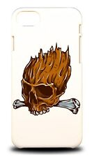 WOOD HEAD SKULL HARD CASE COVER FOR APPLE IPHONE 7