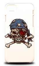 PIRATE SKULL 2 HARD CASE COVER FOR APPLE IPHONE 7