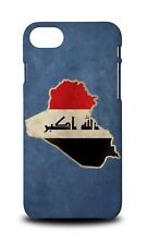 IRAQ NATIONAL COUNTRY FLAG HARD CASE COVER FOR APPLE IPHONE 8