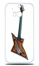 MUSIC ELECTRIC GUITAR 12 HARD CASE COVER FOR HTC ONE M8