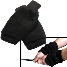 Fleece Winter Pull Up Mitts for Golf     Mittens / Gloves for Golfing and Sports
