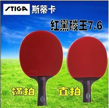 STIGA 7.6 Carbon Table Tennis Racket Pingpong Paddle Pingpong Blade