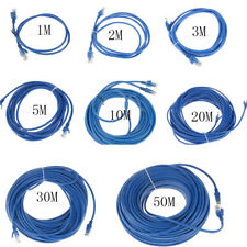 3/6.5/10ft/16ft/33ft/66ft/98ft Ethernet Lan Network Cable CAT5e RJ45 Cord