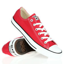 Converse Unisex Red Chuck Taylor All Star Low Core Sneakers