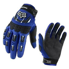 Fox Racing Dirtpaw MX motocross racing riding gloves blue black red - NEW