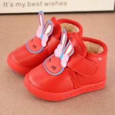 Winter Toddler Girls Cute Soft Infant Shoes Kids Walking Shoes Waterproof Shoes