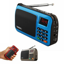 New Mini Rechargeable Portable FM Radio Mp3 Music Player LED with TF Card Slot