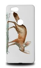 FOX SKETCH ART DRAWING HARD CASE COVER FOR GOOGLE PIXEL 2