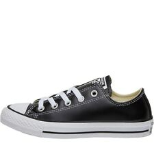 NEW Converse CT All Star Ox Leather Trainers Black/White 3.5 - 4.5 UK