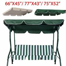 """Patio Swing Canopy Replacement Top Cover Porch Outdoor 65x45"""" 77""""x43"""" 75X52"""""""