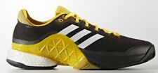 adidas Performance BARRICADE BOOST 2017 MEN'S SHOES Black- Size US 12, 13 Or 14