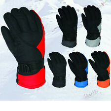 Outdoor Winter Warm Windproof Ski Gloves Snow Mittens Riding Cycling Gloves Men