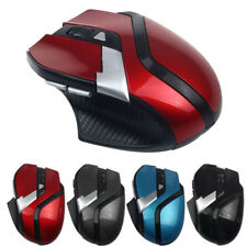 2.4GHz 1600DPI Wireless Optical Adjustable Mouse Mice+USB Receiver For PC Laptop