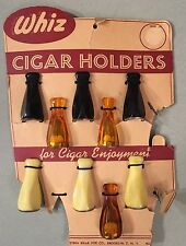 RARE Vintage NOS WHIZ Eastern Briar Pipe Co. Bakelite Cigar Holders New Unused