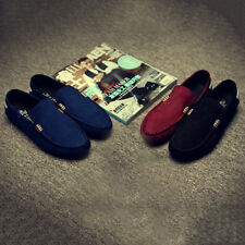 1 Pair Mens Casual Shoes Mens Peas Shoes Suede Leather Men Loafers