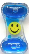MINI LIQUID MOTION TOY - WINDMILL SPINNER SMILEY FACE AUTISM STRESS TOY TIMER