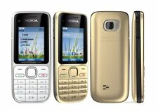 Original Nokia C2-01 Unlocked Mobile Phone C2 Refurbished GSM/WCDMA 3G Phone