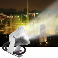 10W 12V Underwater LED Flood Wash Pool Waterproof IP68 Light Spot Lamp Lights