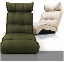 Lounge Sofa Bed Floor Recliner Chair Chaise Adjustable Foldable Daybed Sleeper