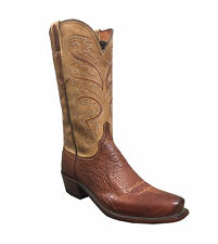 Lucchese Nathan Men's Smooth Ostrich Boot N1160-74