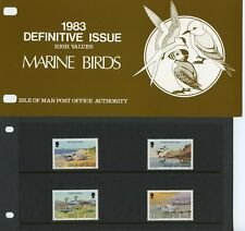 ISLE OF MAN MINT STAMP PRESENTATION PACKS 1980-1984 - Offered Individually