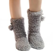 Non-slip Softthick Plush Warm Indoor Slippers Floor Women's Cotton-padded Shoes