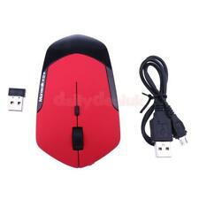 USB Wireless Mouse 2.4G Optical Adjustable 1600DPI Ergonomic Mouse