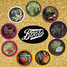 BOOTS EXTRACTS BODY BUTTER MOISTURIZERS Various scents 200 ml. ( 6.7 OZ. )