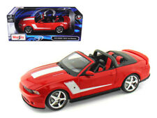 Maisto 2010 Ford Mustang Convertible 427R Roush Edition 1/18 Diecast Car Model
