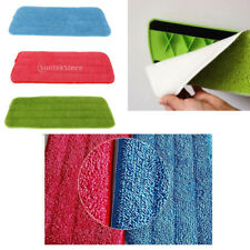 absorbent Microfiber Replacement Mop Pad Reusable Washable Flat Spray Mop Cloth