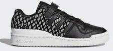 adidas Originals Women FORUM LO SHOES Leather Upper BLACK/WHITE-Size US 5,6 Or 7