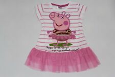 BRAND NEW PEPPA PIG GIRLS PRINCESS TUTU DRESS TOP SIZE 2.3.4.5.6