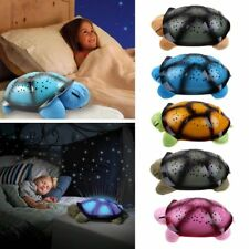 Turtle Night Light Star Sky Projection Lamp Musical LED Baby Kids Sweet Sleep