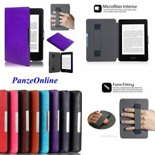 For Amazon Kindle Paperwhite 1 2 3  Cover Leather Kindle Touch Strap Slim Case